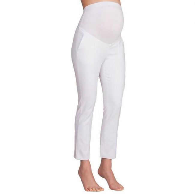 Seraphine Cressida O/b Cropped Trouser - White