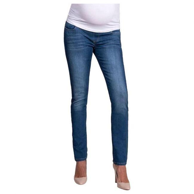 Seraphine Faith Skinny Underbump Jeans - Blueewash