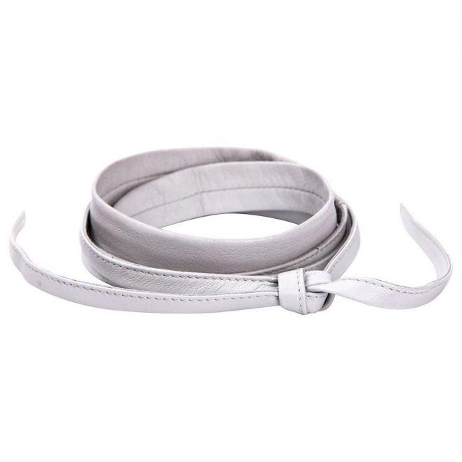 Seraphine Gordon Narrow Wrap Belt - Stone