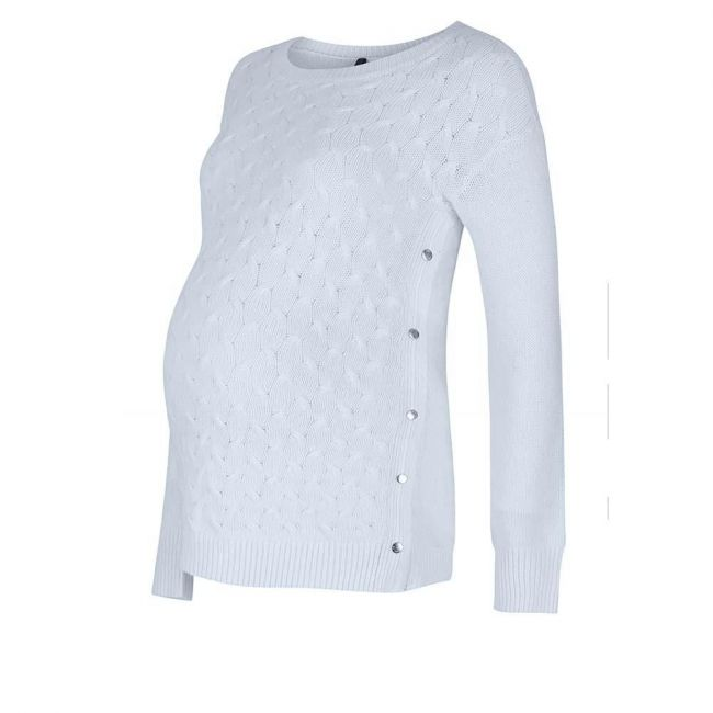 Seraphine Jamie Cable front Sweater