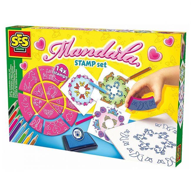 SES Creative - Stamp Set Mandala