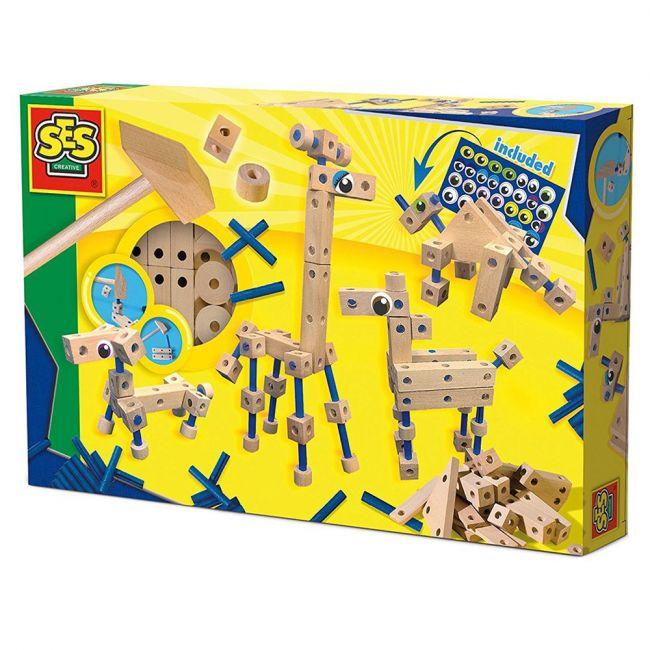 Ses Carpentry Playset Animals