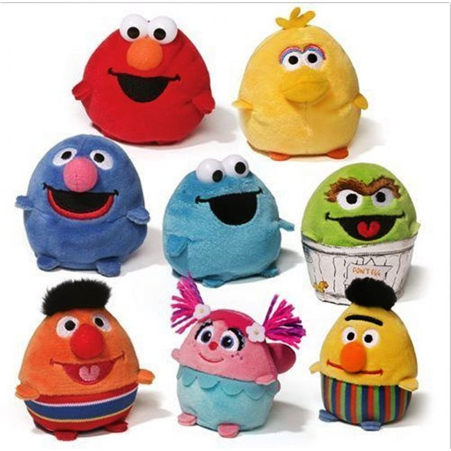 Sesame Street - Bean Bags Asesame Streetorted 36 Pcs