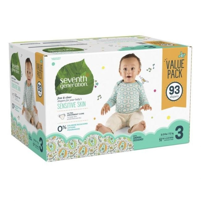 Seventh Generation Diapers - Value Pack (3pk)