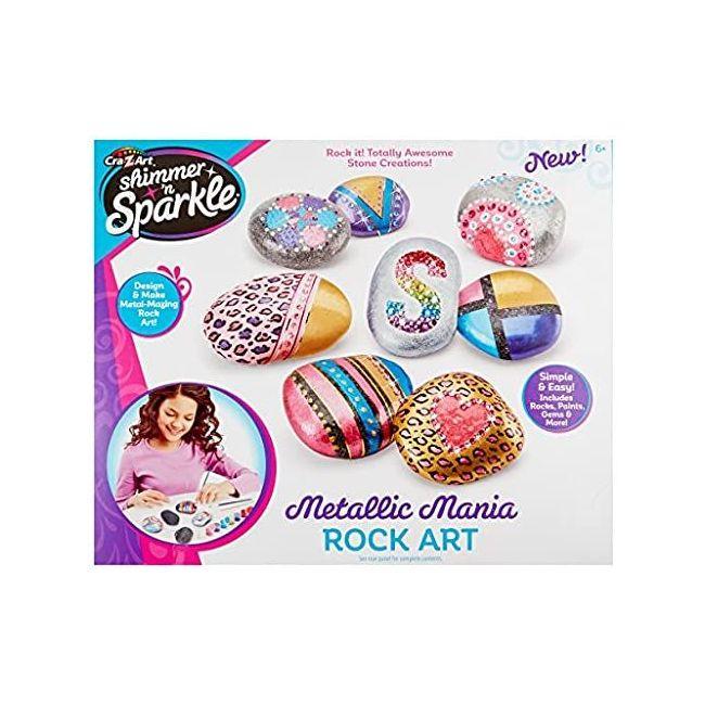 Shimmer N Sparkle - Metallic Mania Rock Art