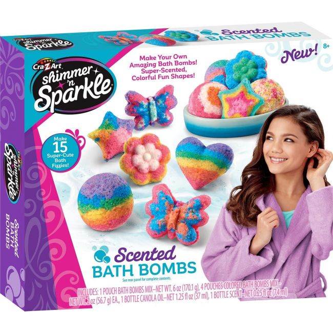 Shimmer N Sparkle - Scented Bath Bombs