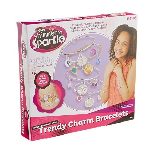 Shimmer N Sparkle - Trendy Charm Bracelets Asst