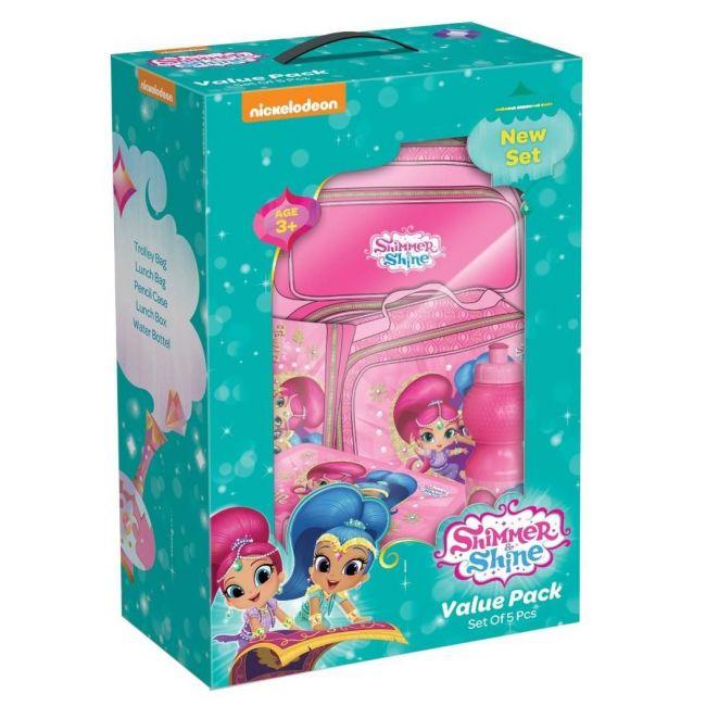 Disney Shimmer & Shine Value Pack Set Trolley 18 inch