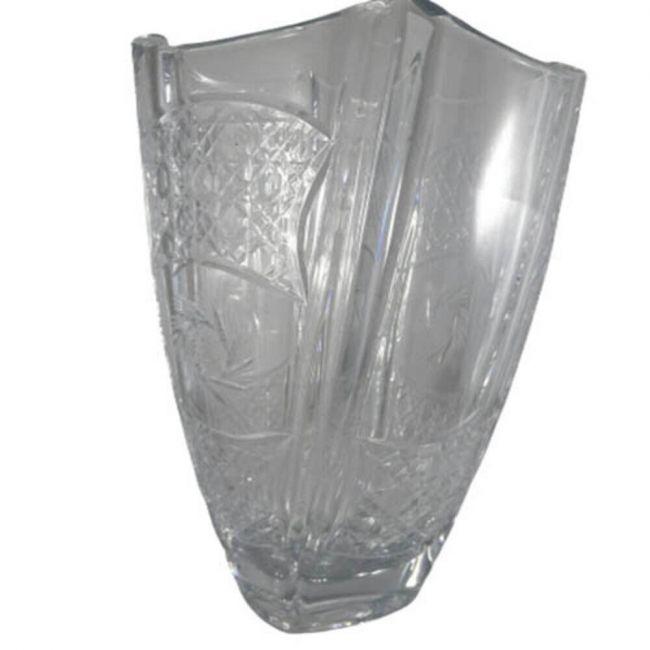 Silver Sword - Crystal Vase Colloseum 30 5 Cm