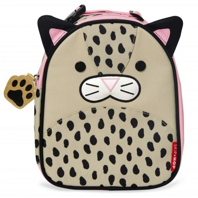 Skip Hop Zoo Lunchie Kid's Bag - Leopard