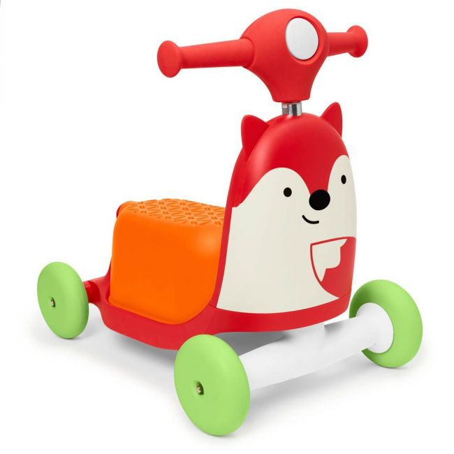 Skiphop- Zoo Ride-On Toy Fox