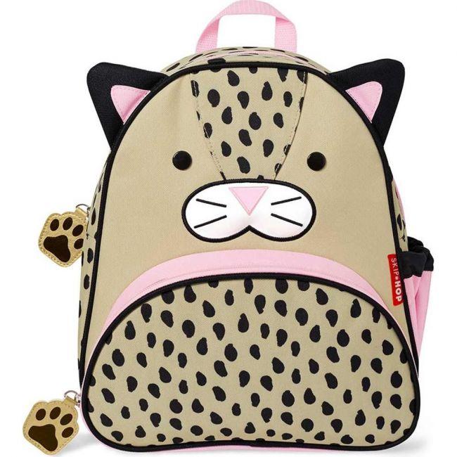 Skip Hop Zoo Kid's School Backpack Leopard