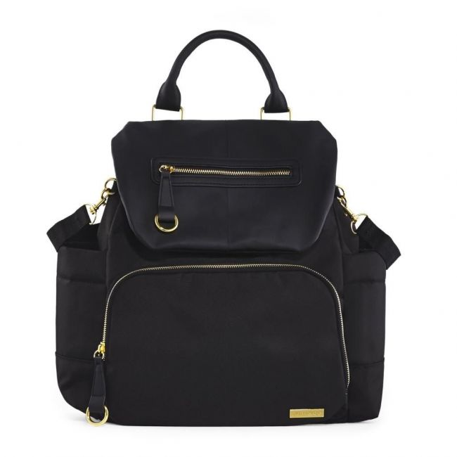 Skip Hop Black Chelsea Diaper Backpack
