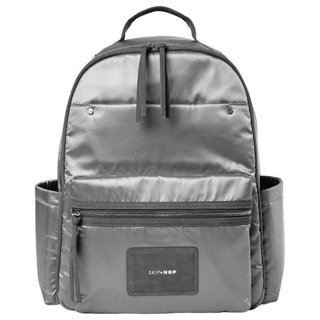 Skiphop - Skyler Backpack - Shiny Grey
