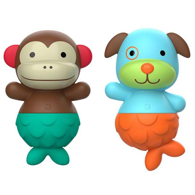 Skiphop - Zoo Mix And Match Flippers Monkey Dog