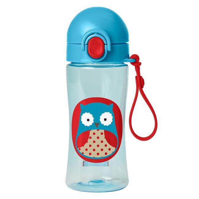 SkipHop - Zoo Sport Bottle 414ml - Owl