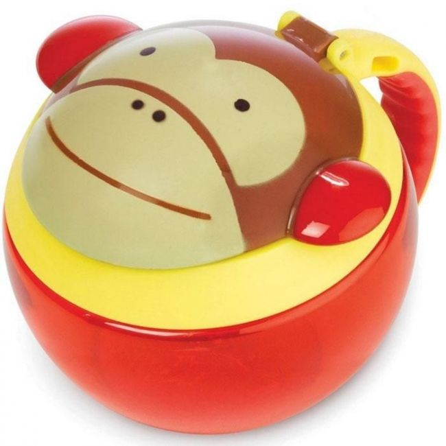 SkipHop Zoo Kid's Snack Cup - Monkey