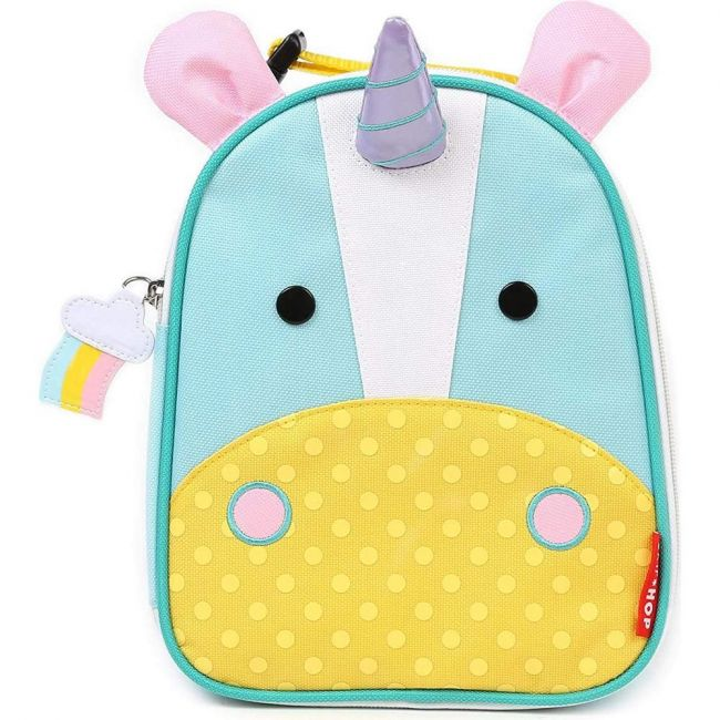 SkipHop Zoo Lunchie Kid's Bag, Unicorn