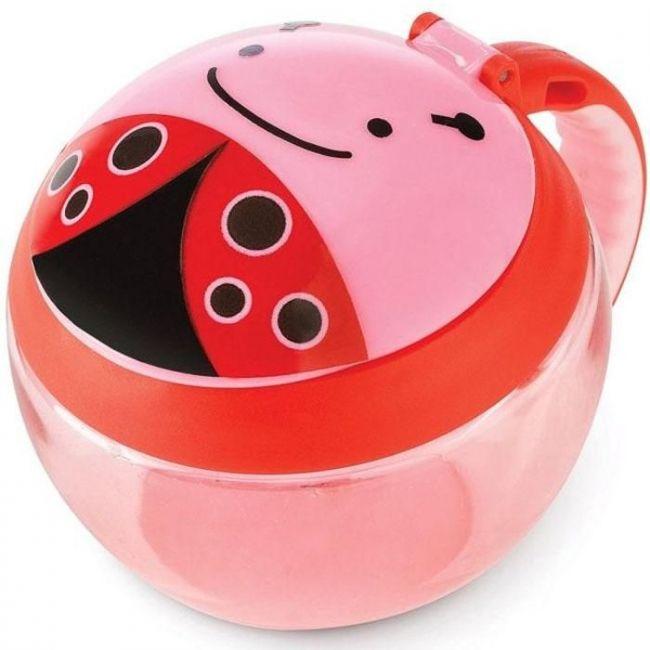 SkipHop Zoo Snack Cup, Ladybug
