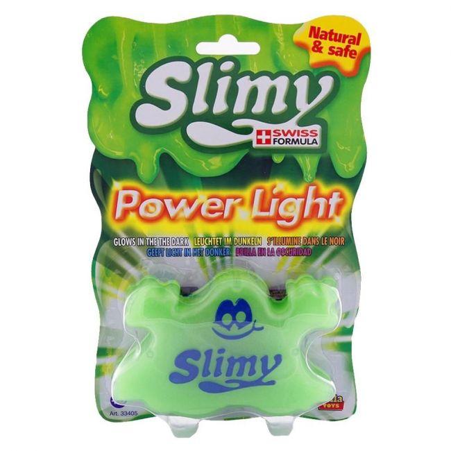 Slimy Power Light Slimy Blister Card Green