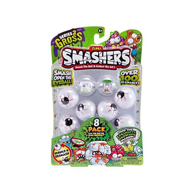 Smashers - S 2 Collectables 8 Pk In Smash Ball