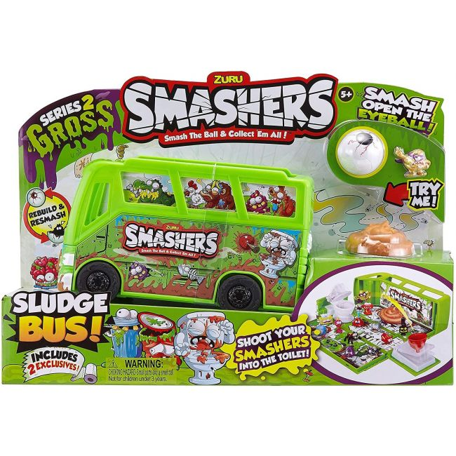 Smashers - S 2 Collectables Sludge Bus