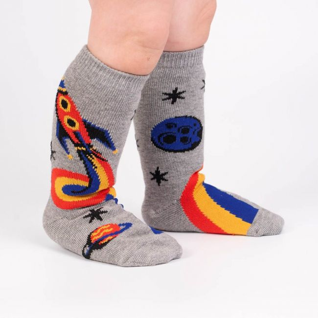 Sock It To Me - Toddler Knee: A Trip To The Moon