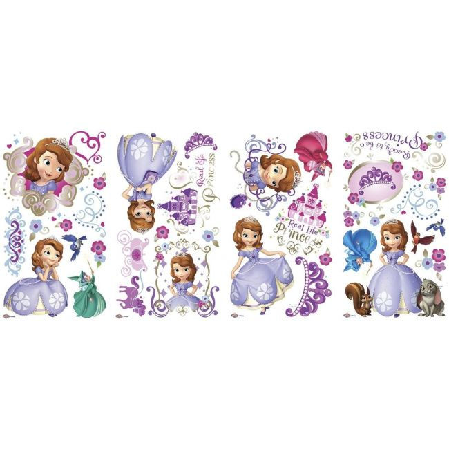 Room mates Sofia The First Wall Decals