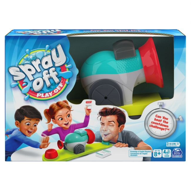 Spin Master - Game Spray Off Play Off