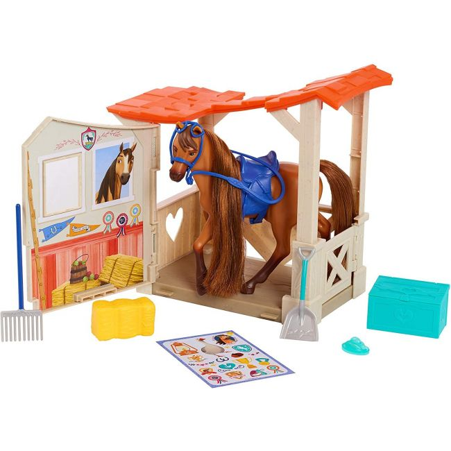 Spirit - Stable And Horse Accessory Set