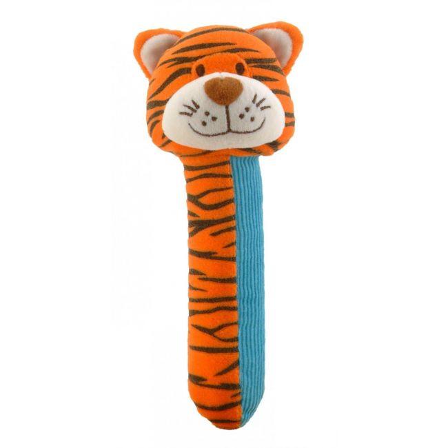 Fiesta Crafts Tiger Squeakaboo Soft Toy