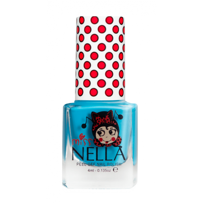 Miss Nella Nail Polish - Mermaid Blue