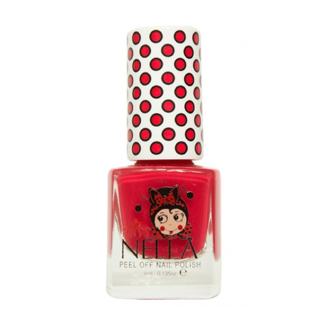 Miss Nella Nail Polish - Cherry Macaroon