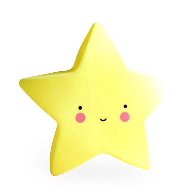 Eazy Kids - Star Night Lamp Light - Yellow