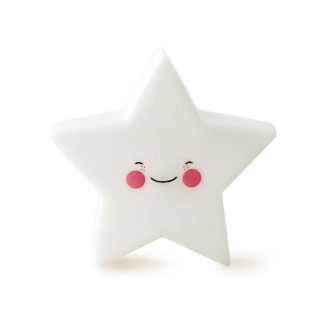 Eazy Kids - Star Night Lamp Light - White