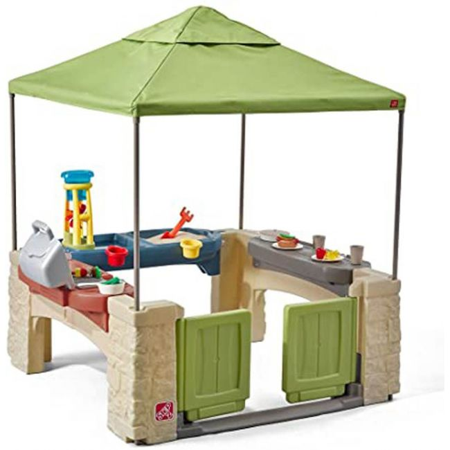 Step 2 - All Aroud Play Time Patia With Canopy