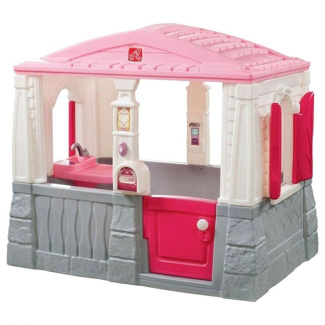 Step 2 - Neat & Tidy Cottage (Pink)