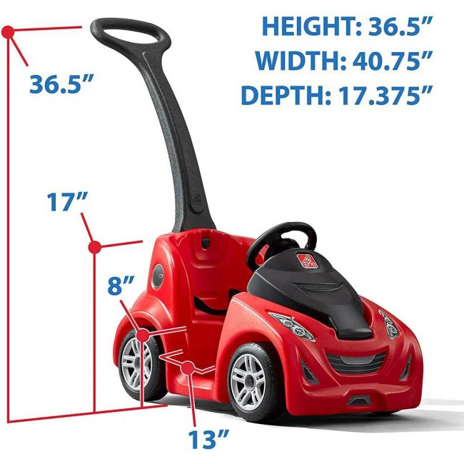 Step 2 - Push Around Buggy Gt(Red)
