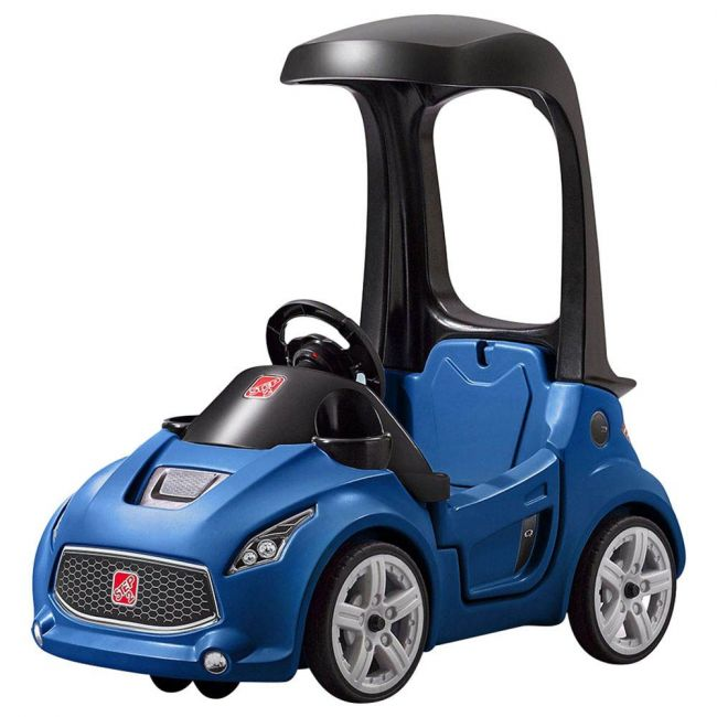 Step 2 - Turbo Coupe -Foot To Floor (Blue)