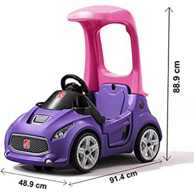 Step 2 - Turbo Coupe -Foot To Floor (Purple)