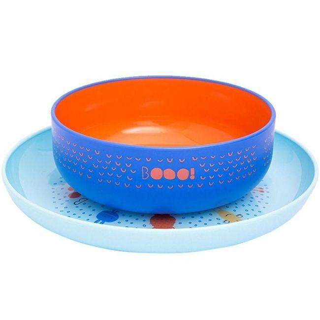Suavinex Blue L3 Booo Plate & Booo Bowl