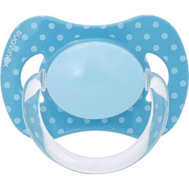 Suavinex Blue Phisiological Silicone Teat Soother