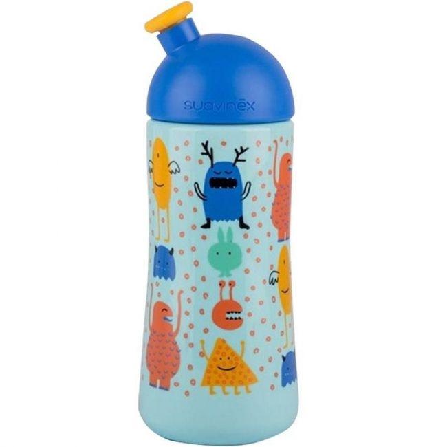 Suavinex Booo Blue L3 Third Bottle with Sporty Spout - 18m+