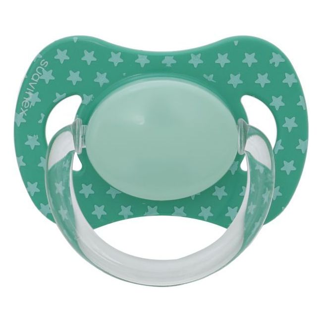 Suavinex Green Phisiological Silicone Teat Soother