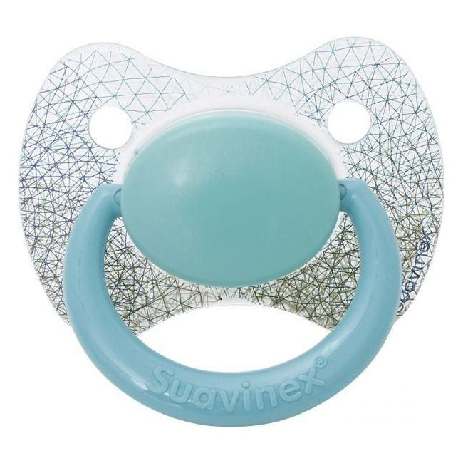 Suavinex Turquoise Premium Physiological Silicone Soother - +12m