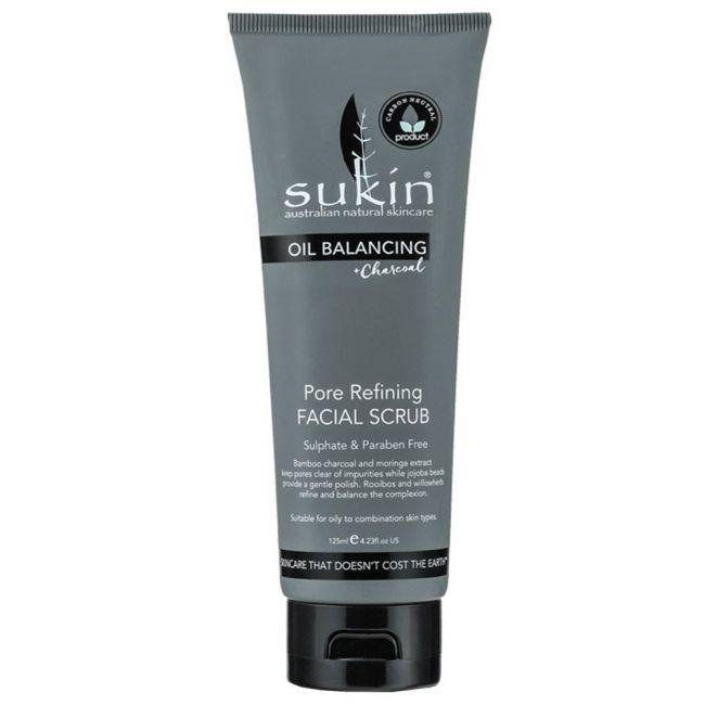Sukin - Oil Balancing Pore Refining Facial Scrub - 125ml