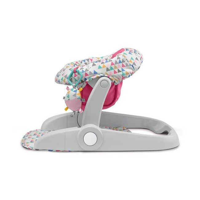 Summer Infant - Learn To Sit 2 Position Floor Seat Fun Fetti - Pink
