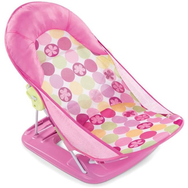 Summer Infant - Mothers Touch Deluxe Baby Bather Circle Daisy