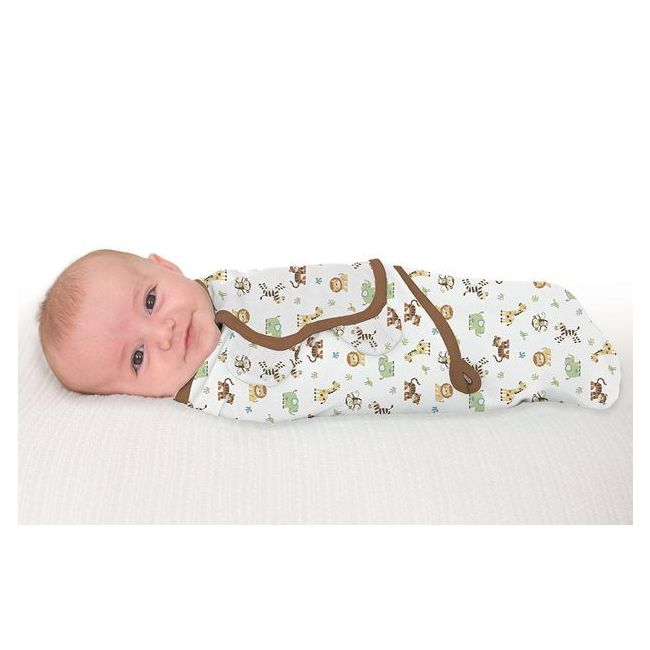 Summer Infant - Swaddle Me From 0 3 Months Graphic Jungle