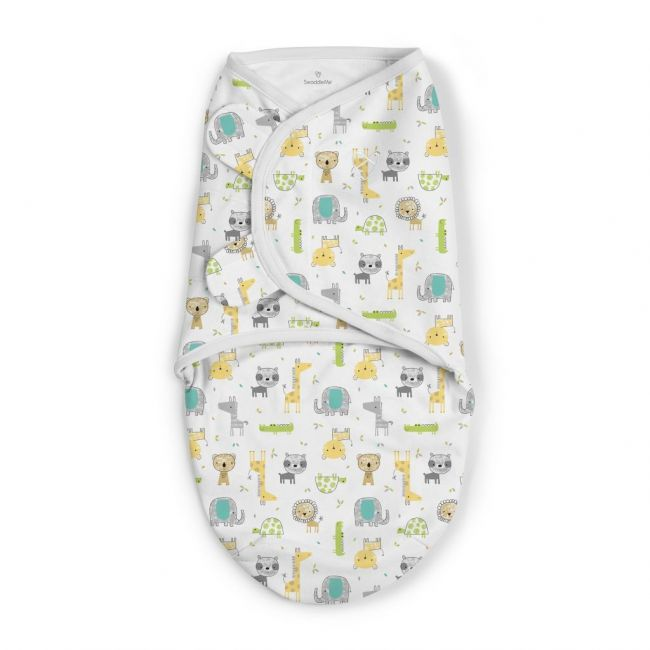 Summer Infant - Swaddle Me From 0 3 Months Safari Excursion 1 Pk